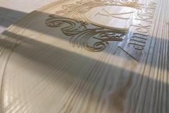 Frezowanie detali dekoracyjnych - logo Zamek Kliczków