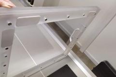 Zabezpieczenie matrycy RTG z plexi 10 mm i 35 mm. Projekt autorski dla BCZ w Bolesławcu