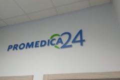 Logotyp 3D frezowany plexi 20 mm Wrocław
