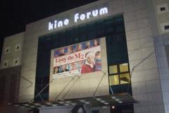 Logotyp 3D LED z taśmy ALURAPID montaż na elewacji budynku