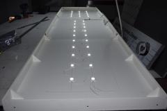 Plecy kasetonu LED - PVC 10 mm + osprzęt leketryczny