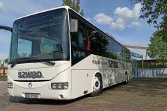 Oklejanie autobusu autokaru