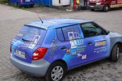 Reklama na pojazdach firmowych BZM Ciesla z Bolesławca