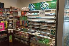 Osłona z plexi na ladę kompleksowa zabudowa do sklepu tytoniowego 2