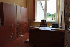 Osłona na biurko sekretariatu