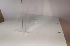 Osłona na ladę z plexi standardowa 3
