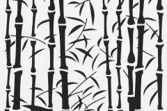 Szablon dekoracyjny bambus