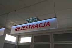 Zwis informacyjny LED BCZ w Bolesławcu