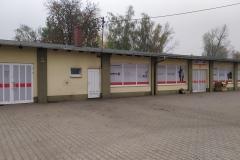 Kompleksowe wyklejanie witryny siedziby biura oddziału sklepu w Bolesławcu