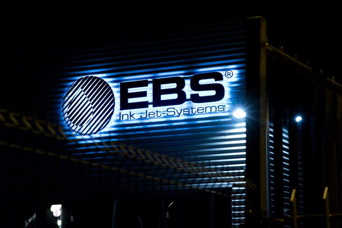 Logotyp 3D LED podświetlany PVC 19 mm