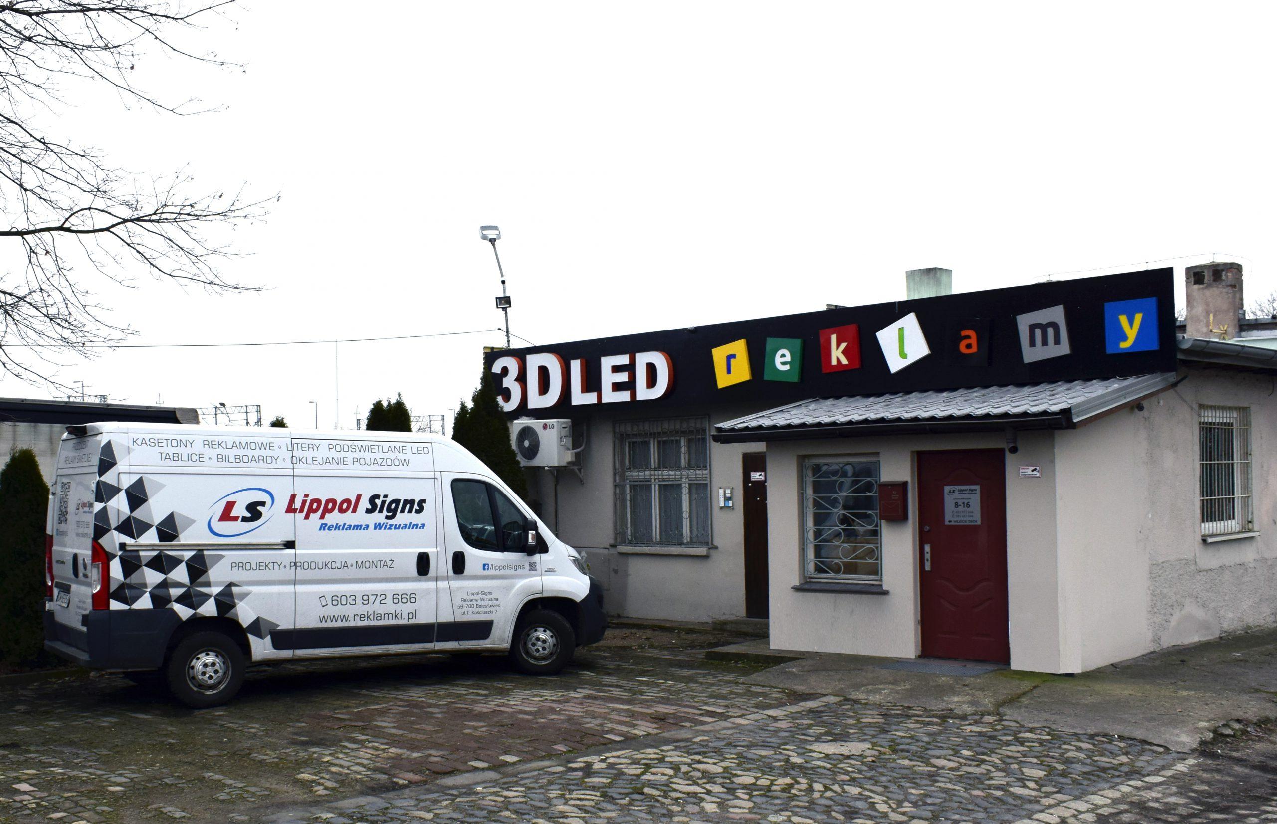 Siedziba firmy Lippol-Signs Reklama Wizualna