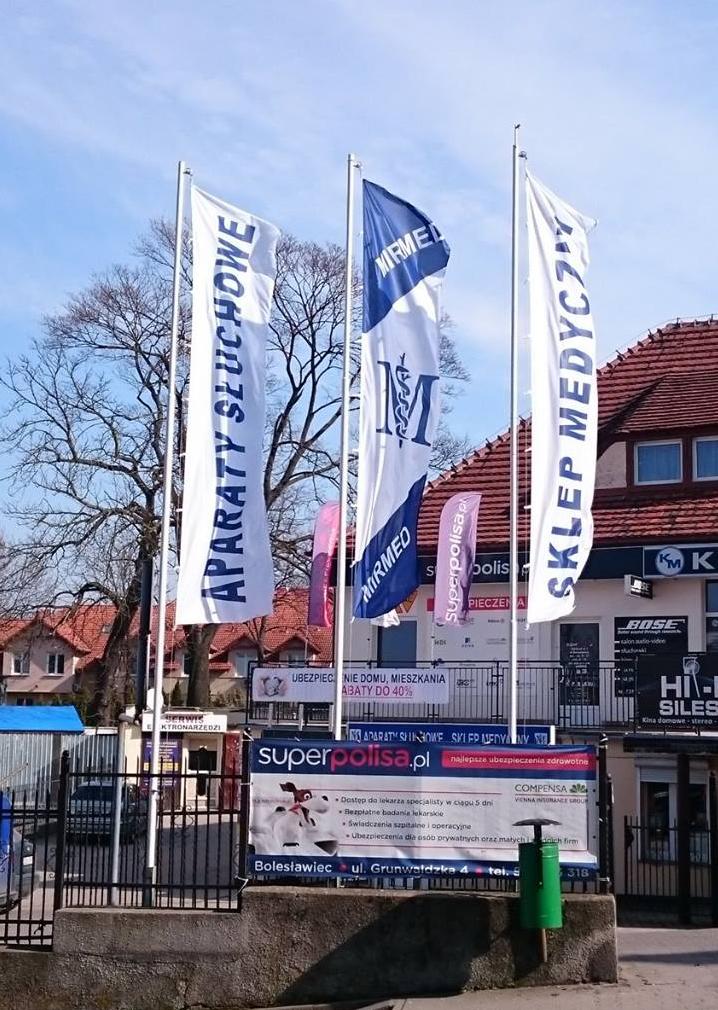 flagi firmowe i flaga reklamowa